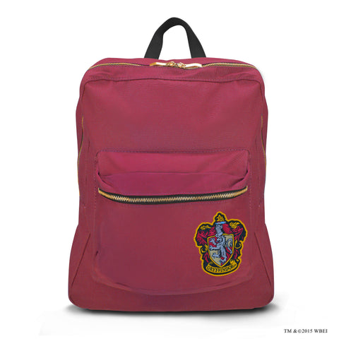 Gryffindor Lined Backpack front