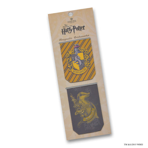 Hufflepuff™ Magnetic Bookmarks