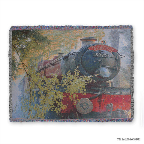 Hogwarts Express Woven Throw