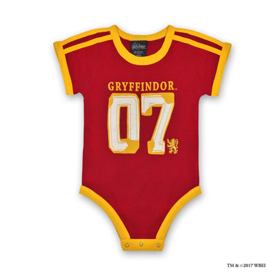 Gryffindor™ Jersey Baby Body Suit front