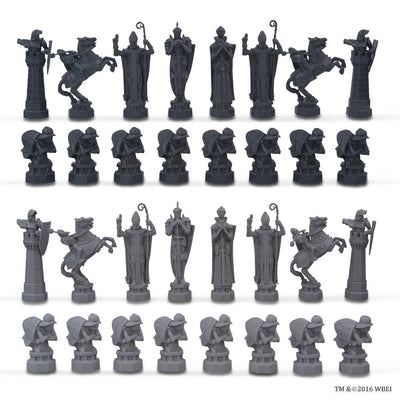 wizard chess set figures