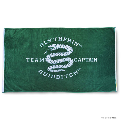 Slytherin Beach Towel
