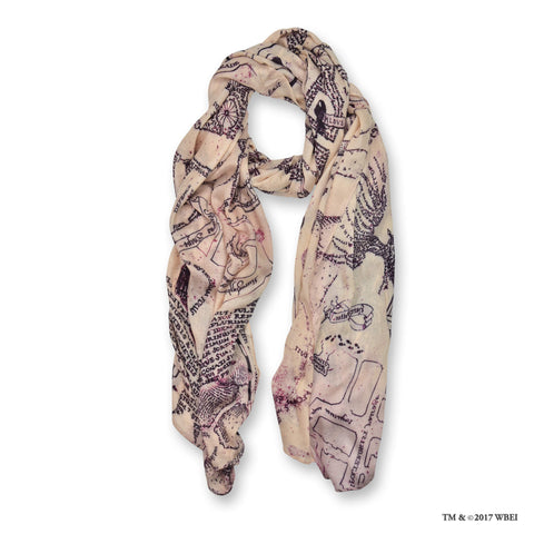Marauders Map Scarf