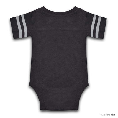 Hogwarts Short-Sleeved Baby Body Suit back