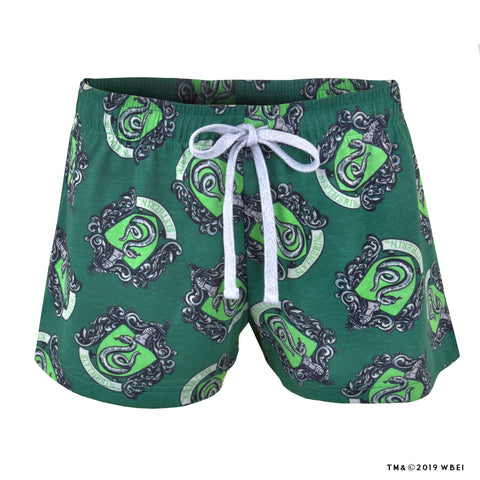 Slytherin Crest™ Lounge Shorts