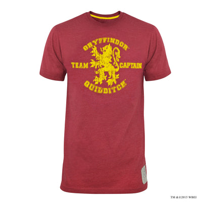 Gryffindor Quidditch Team Captain T-shirt