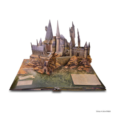 Harry Potter Pop Up Book inside