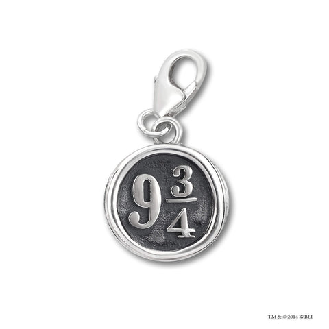Platform 9 3/4™ Sterling Silver Clip on Charm