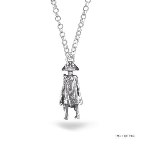 Dobby the House-Elf Sterling Silver Necklace charm
