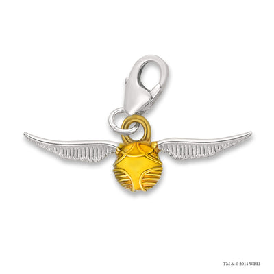 Golden Snitch™ Sterling Silver Clip on Charm