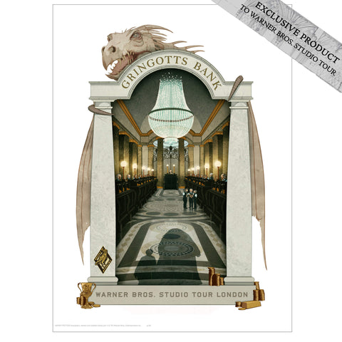 Gringotts Bank Print by MinaLima