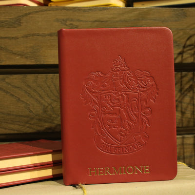 Personalised Gryffindor Crest Embossed Journal