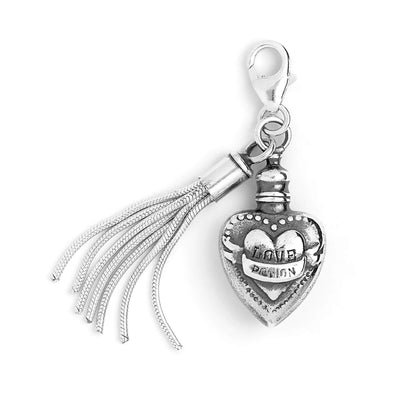 Love Potion Sterling Silver Clip on Charm