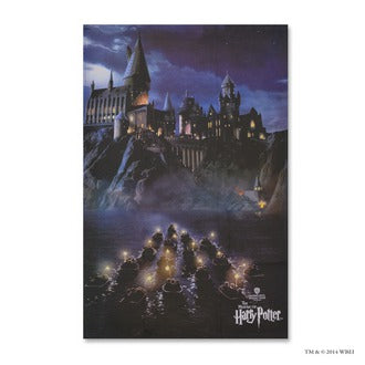Journey to Hogwarts Tea Towel