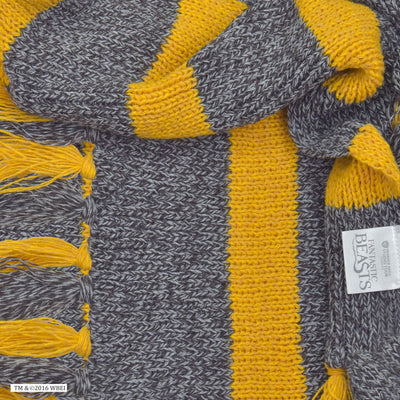 Vintage Hufflepuff Scarf with tag