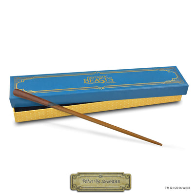 newt scamander collectible wand and box