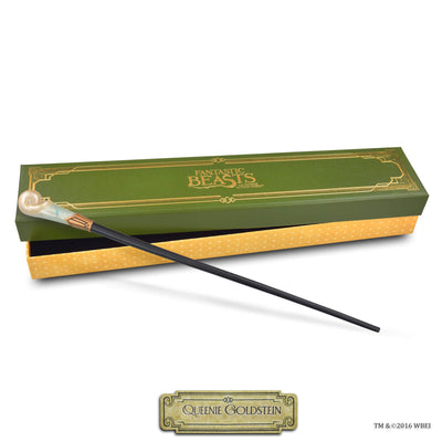 queenie goldstein collectible wand and box