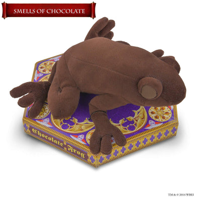 chocolate frog scented soft toy