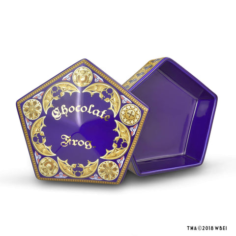 Chocolate Frog Ceramic Box
