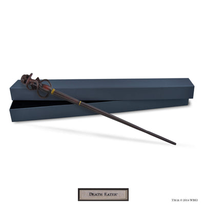 death eater swirl collectible wand and box