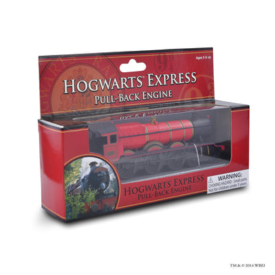 hogwarts express pull-back engine in the box