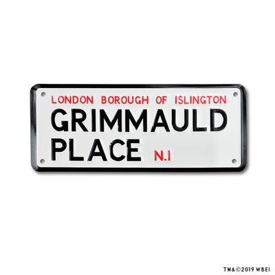 Grimmauld Place Sign