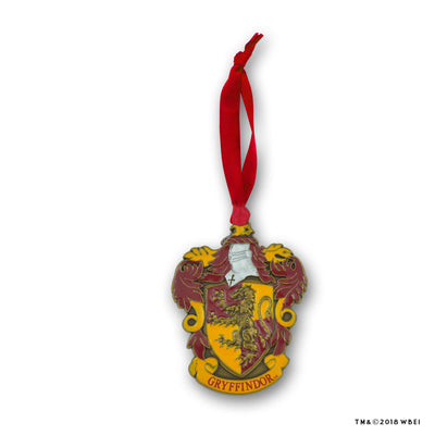 Gryffindor Crest Metal Ornament