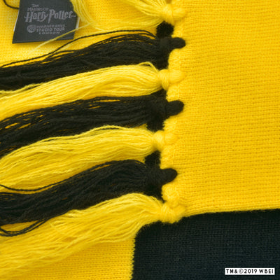 Hufflepuff Broad Stripe Scarf zoomed