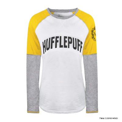 Hufflepuff Ladies Raglan Shirt