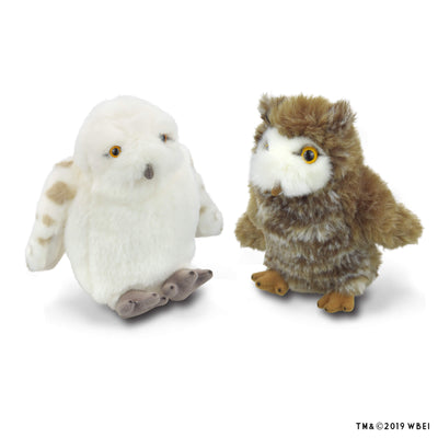 hedwig and pigwidgeon plush set