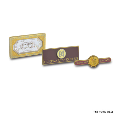 Hogwarts Railways Pin Set