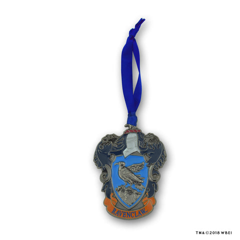 Ravenclaw Crest Metal Ornament