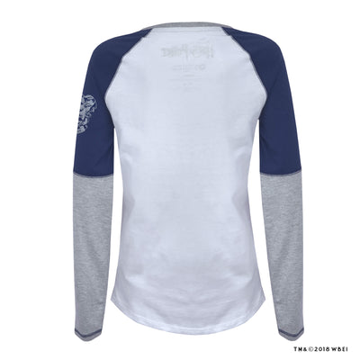 Ravenclaw Ladies Raglan Shirt back