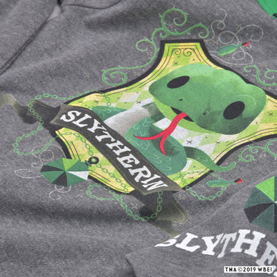 Slytherin™ Mascot Babygrow and Bib close up