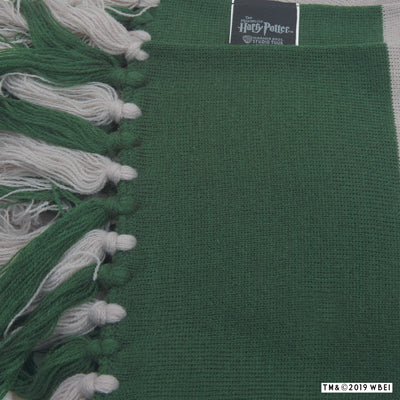 Slytherin Broad Stripe Scarf with tag