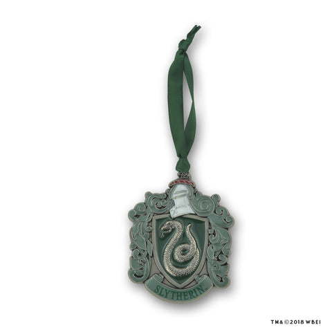 Slytherin Crest Metal Ornament