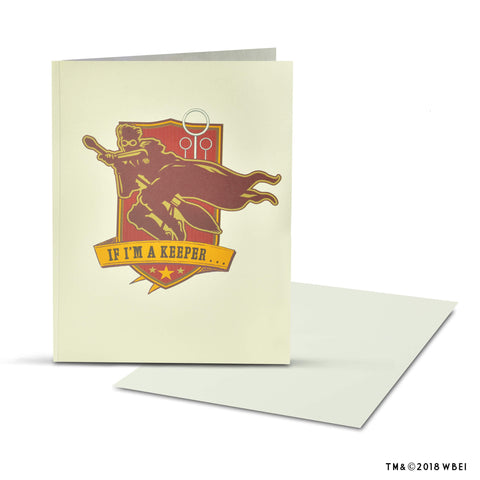 Golden Snitch Pop-Up Greeting Card