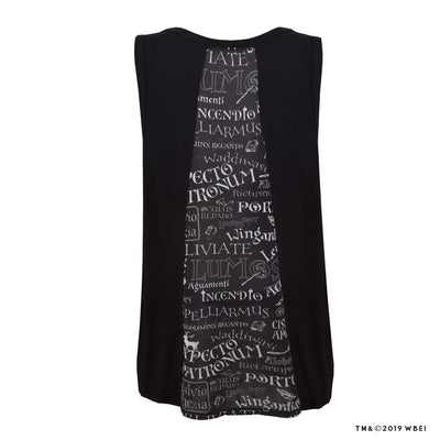 Panel-back Ladies Vest Top