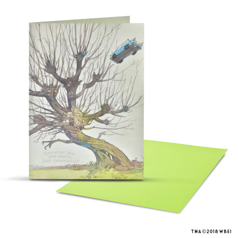 Whomping Willow Pop-Up Greeting Card