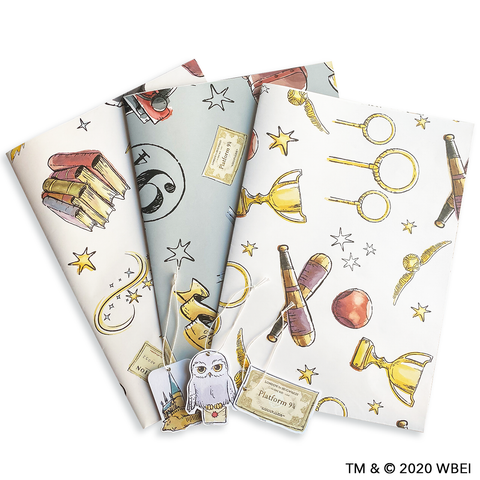 Magical  Harry Potter™ Gift Wrapping Paper and Tags