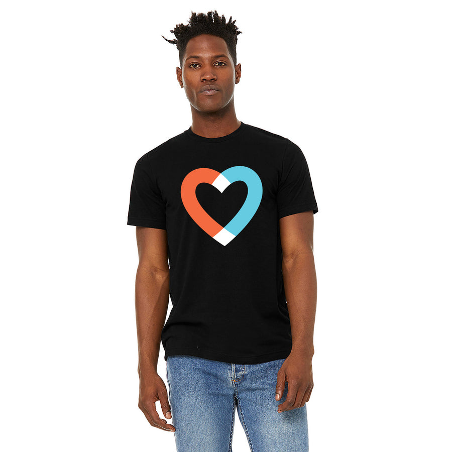 Big Heart Tee - Black