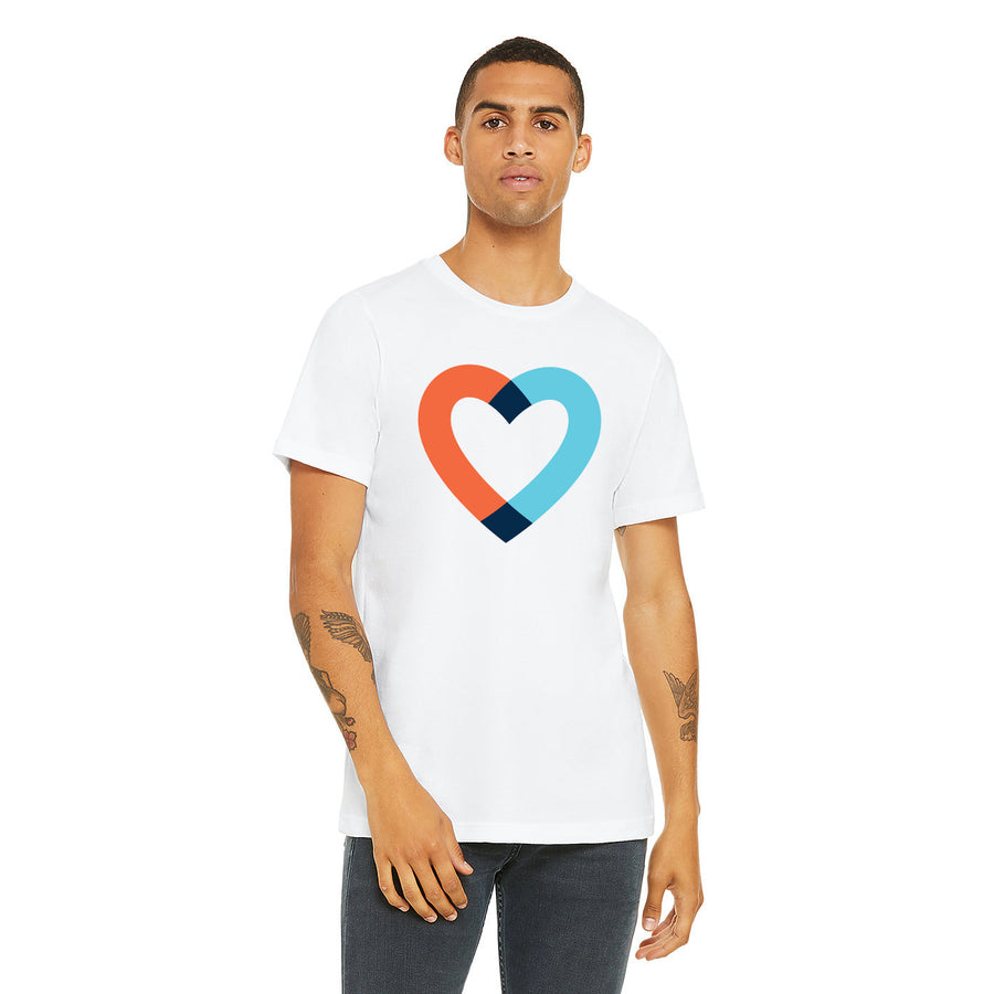 Big Heart Tee - White
