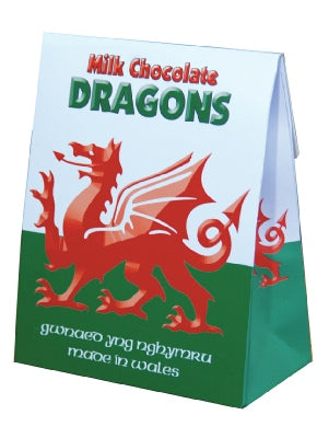 Box of Chocolate Welsh Flags