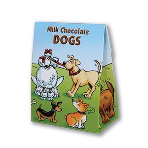 Box of chocolate dogs (welsh)