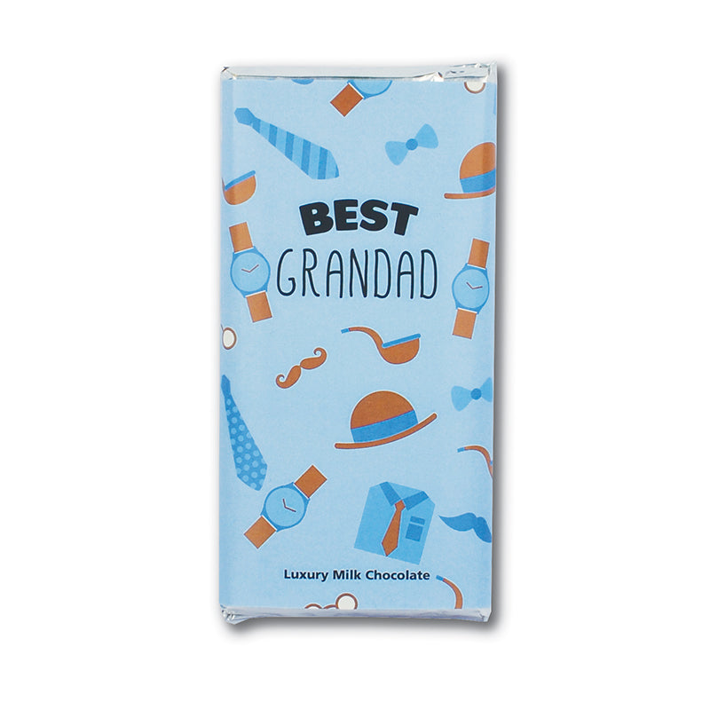 Best Grandad milk chocolate bar (welsh)