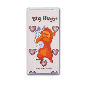 Big Hugs milk chocolate bar (welsh)