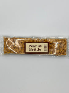 Bar of Peanut brittle