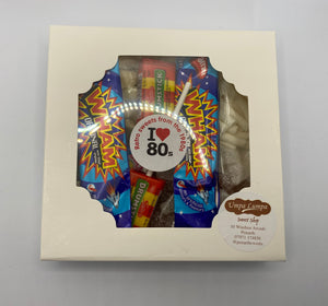 Retro Gift Box with Sweets From the 1980s