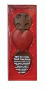 Milk Chocolate Welsh Lovespoon