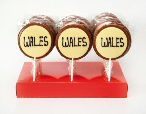 Wales Milk Chocolate Lolly (welsh)